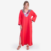 made in italy woman dress kaftano