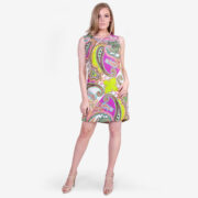 made in italy woman dress arabesque