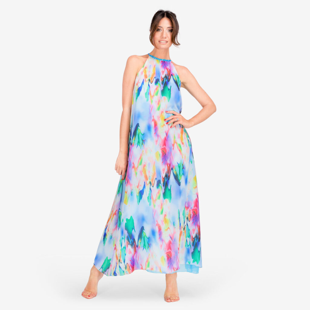 made in italy woman dress color