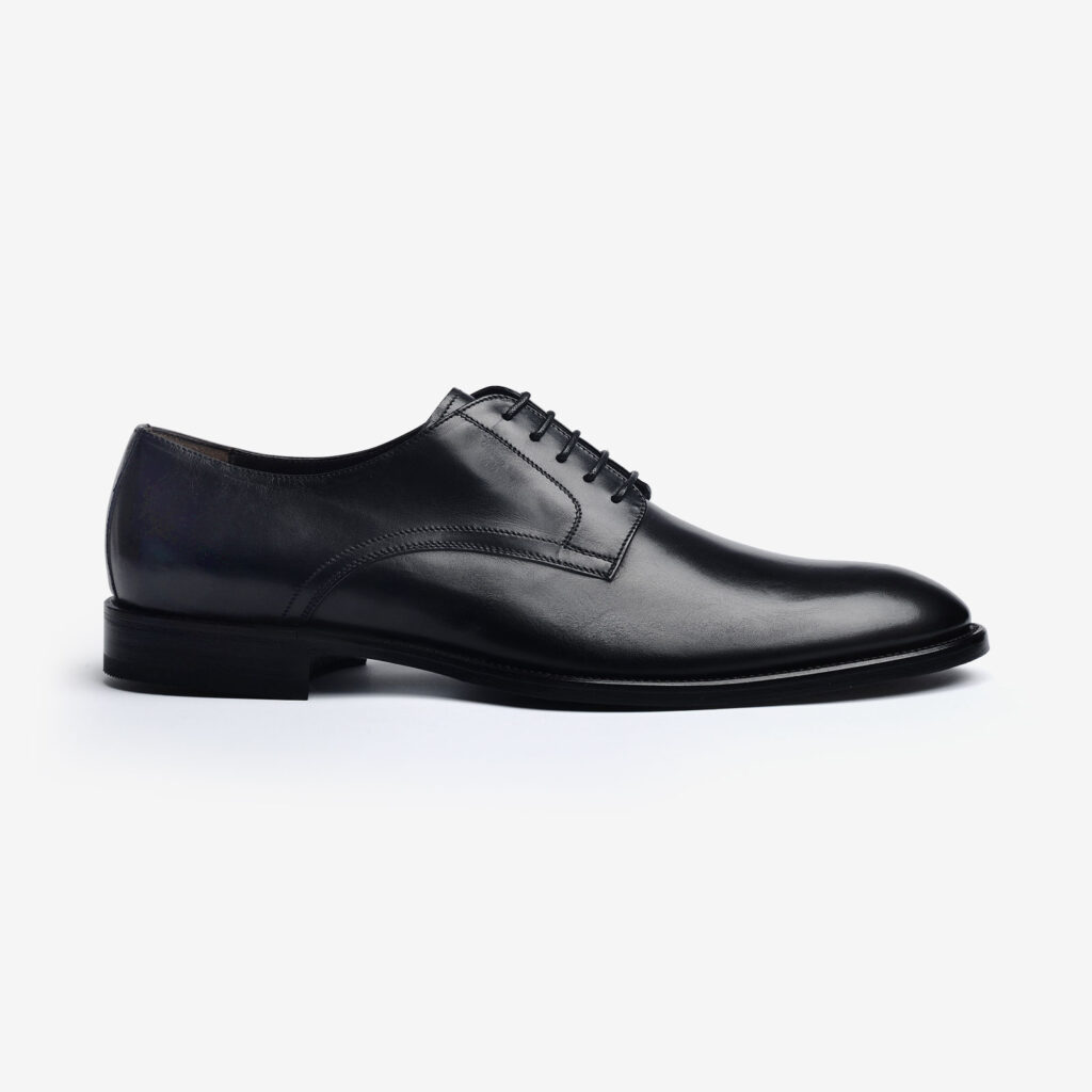 made in italy man shoes leather black elegant bellesi