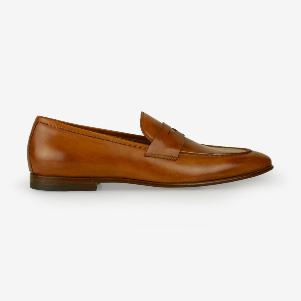 made in italy man shoes leather elegant penny loafers