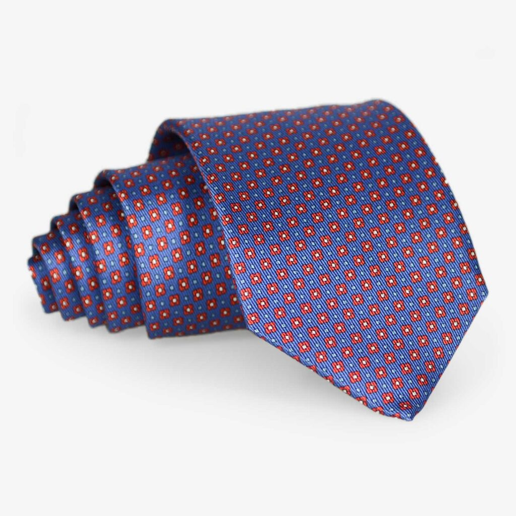 Hand Made in Italy pure silk tie
