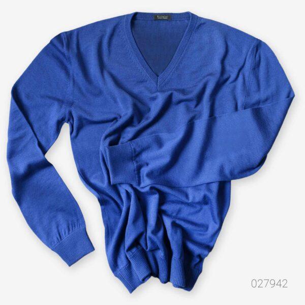 made in italy man- VNeck Jumper merino wool