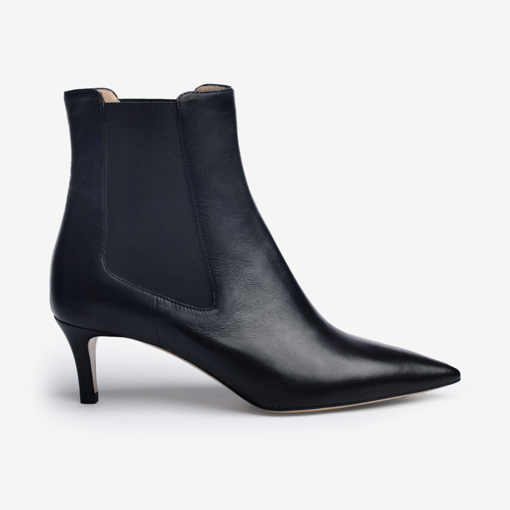 made in italy woman shoes leather elegant booties