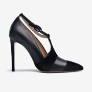 made in italy woman shoes leather elegant pumps