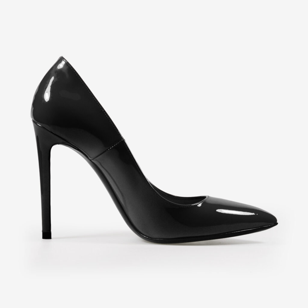 made in italy woman shoes leather elegant decollete pumps