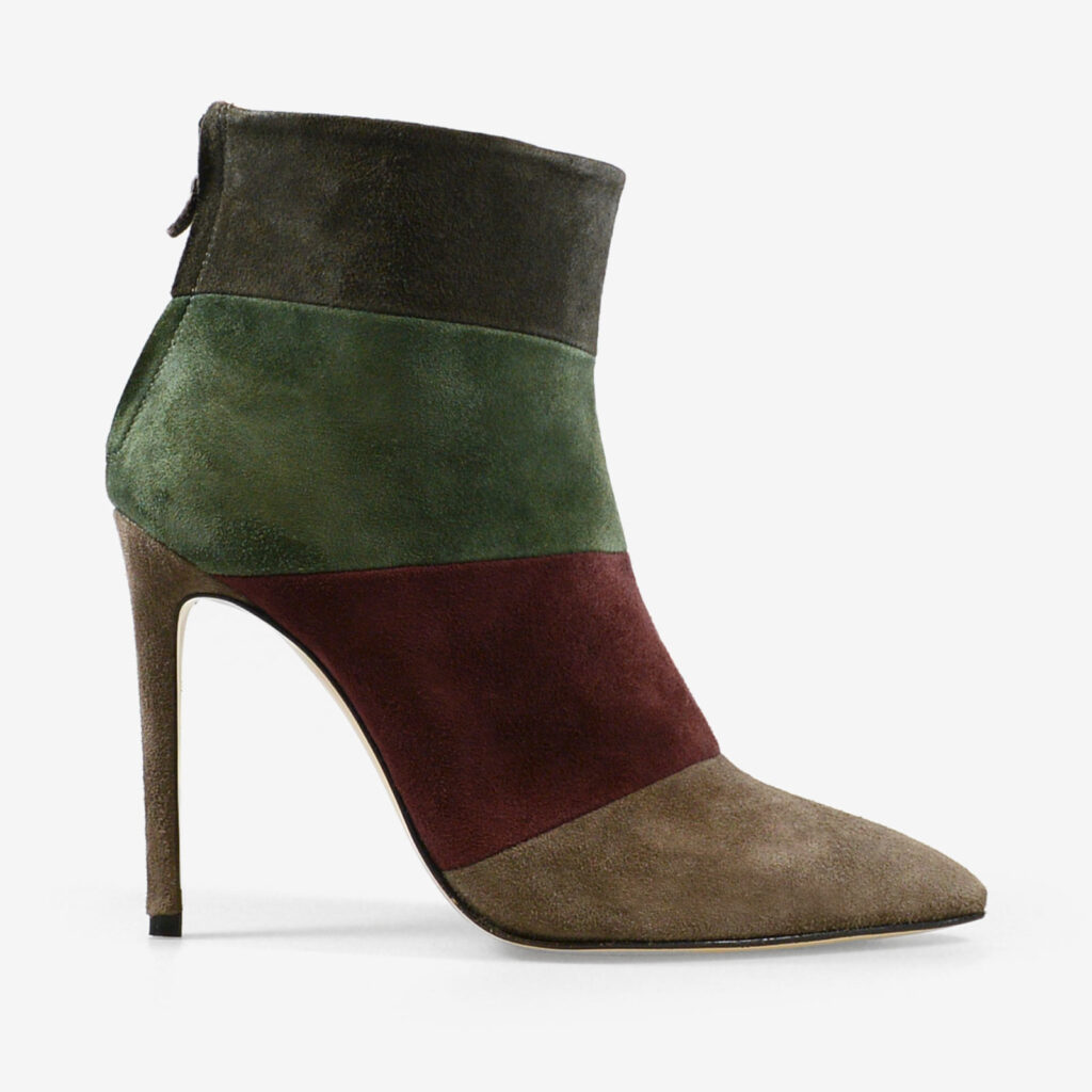 made in italy woman shoes suede elegant booties marco cinosi