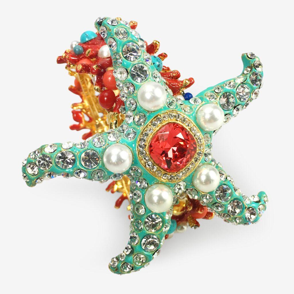 hand made in italy Swarovski marine bracelet carlo zini