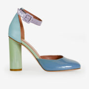made in italy woman hells multicolor leather monnaluna