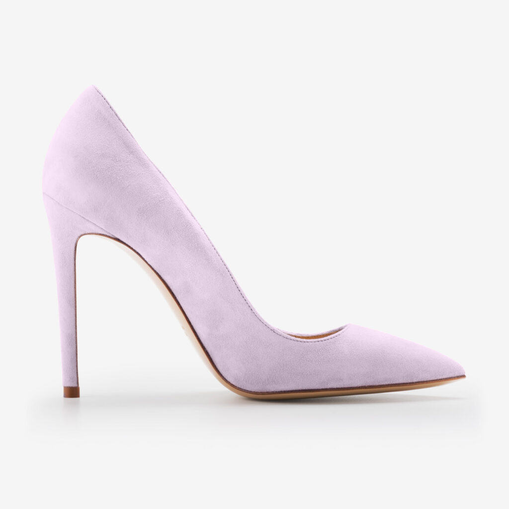 made in italy woman shoes suede elegant decollete pumps