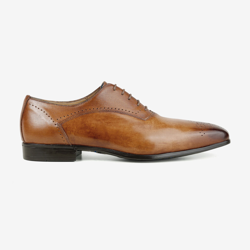 made in italy man shoes leather elegant cognac giorgio