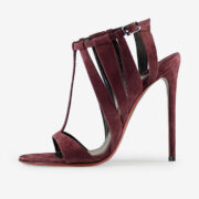 made in Italy woman shoes bordeaux sandals merlyn
