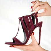 made in Italy woman shoes sandals merlyn bordeaux