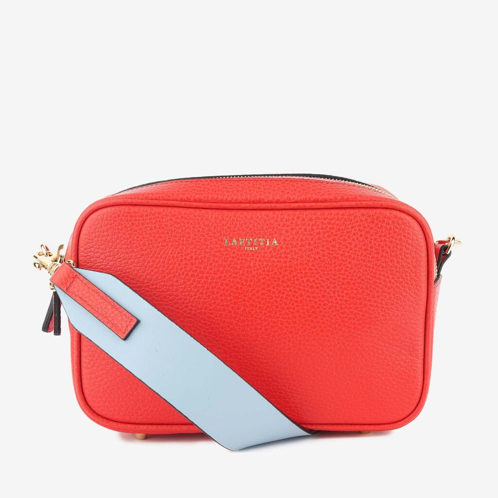 wow made in italy hunters woman bag laetitia red