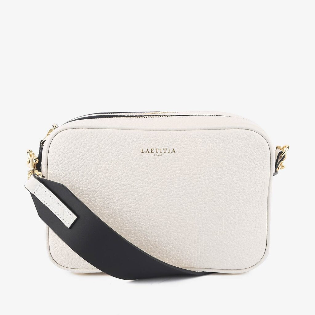 wow made in italy hunters woman bag laetitia white