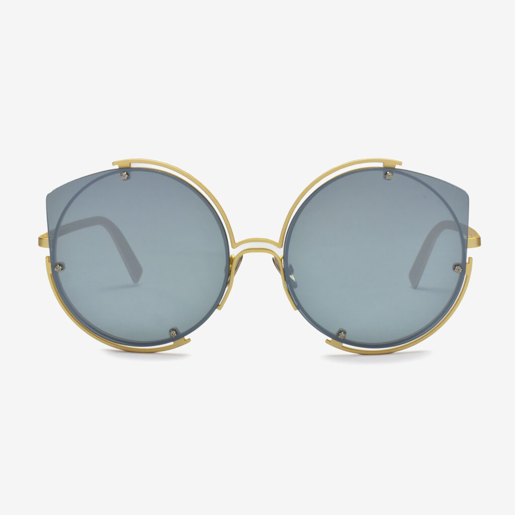 women's and men's sun glasses made in italy hunters glassing base divinorum gold