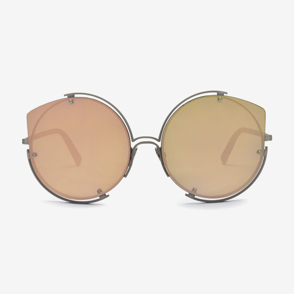 women's and men's sun glasses made in italy hunters glassing base divinorum silver