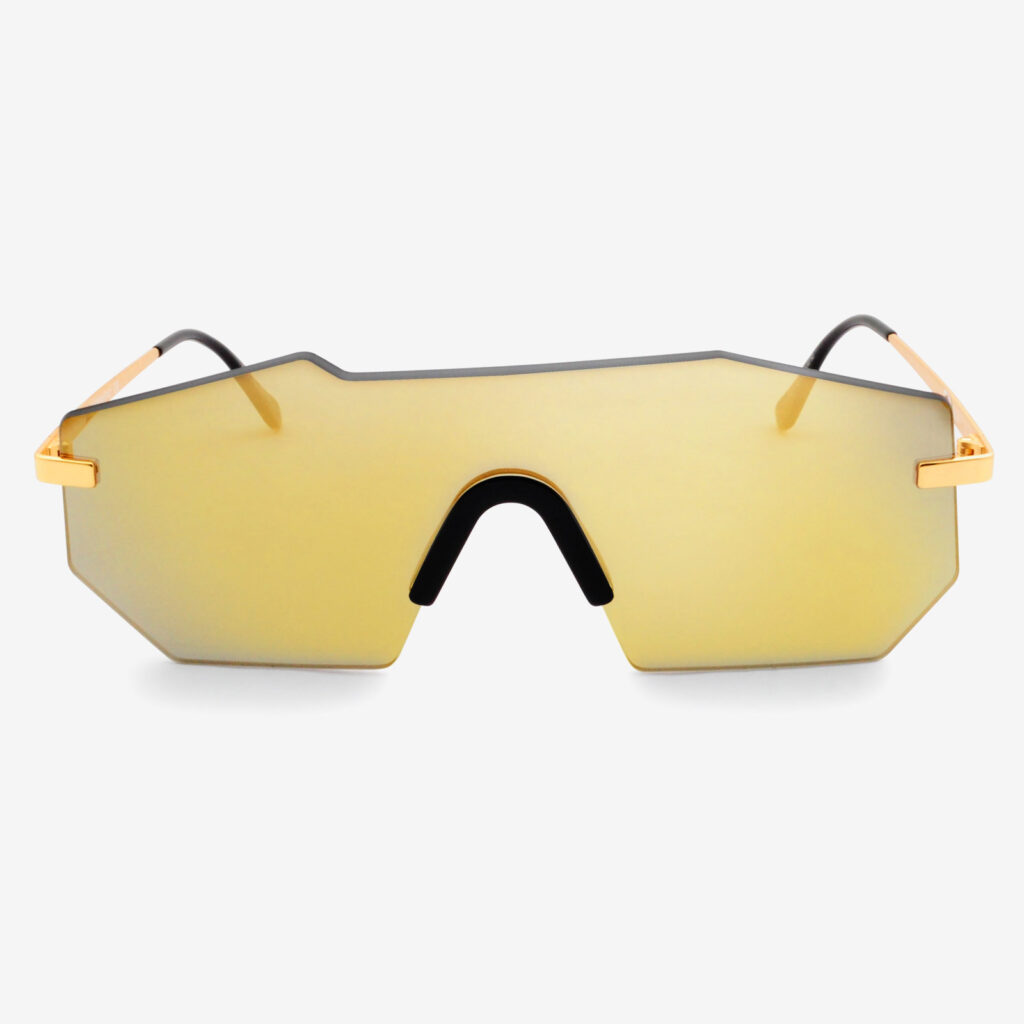 women's and men's sun glasses made in italy hunters eyemask glassing gp 1 gold yellow