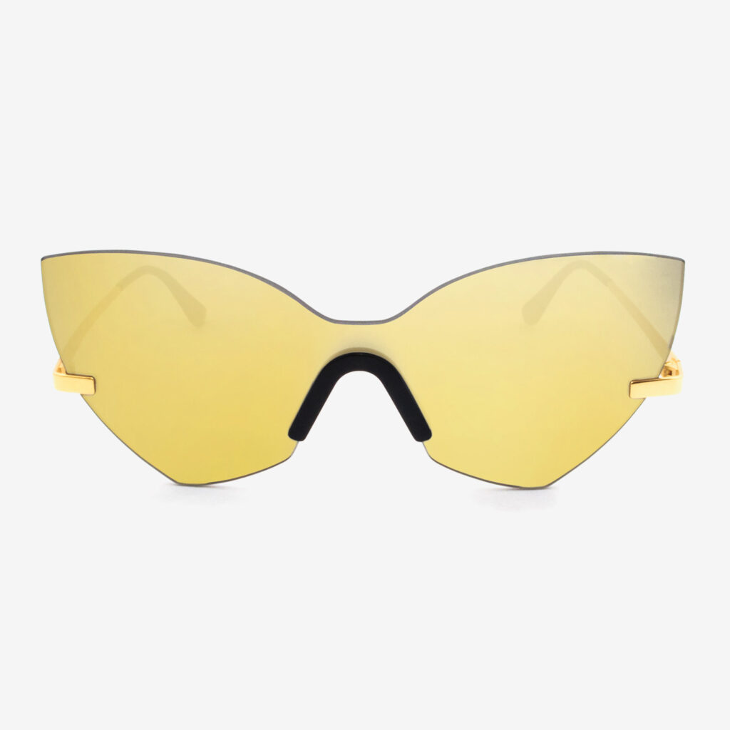 women's and men's sun glasses made in italy hunters eyemask glassing gp 3 gold yellow