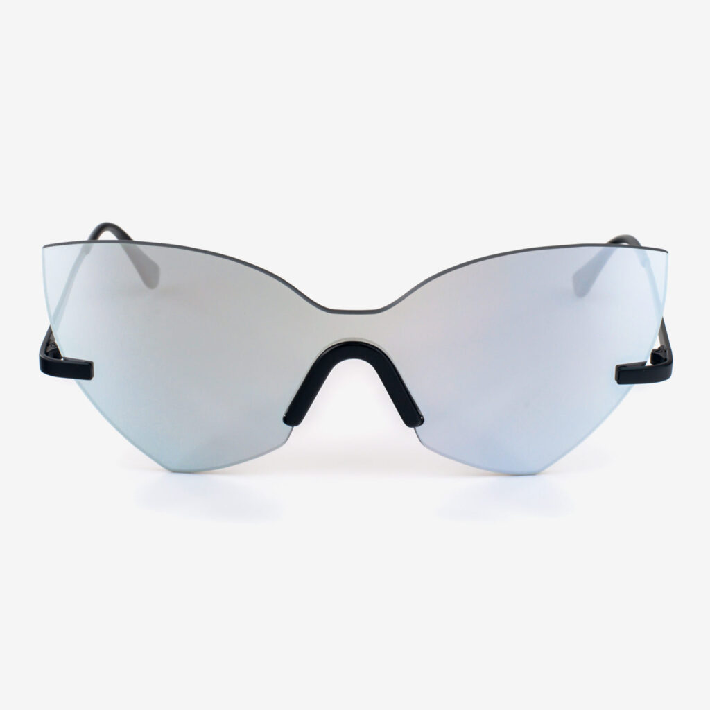 women's and men's sun glasses made in italy hunters eyemask glassing gp 3 extra silver