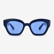 women's and men's sun glasses made in italy hunters glassing prismik brillante blue navy