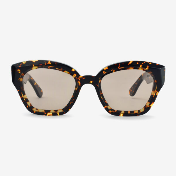 women's and men's sun glasses made in italy hunters glassing prismik brillante havana