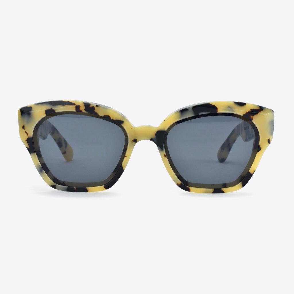 women's and men's sun glasses made in italy hunters glassing prismik brillante white marble