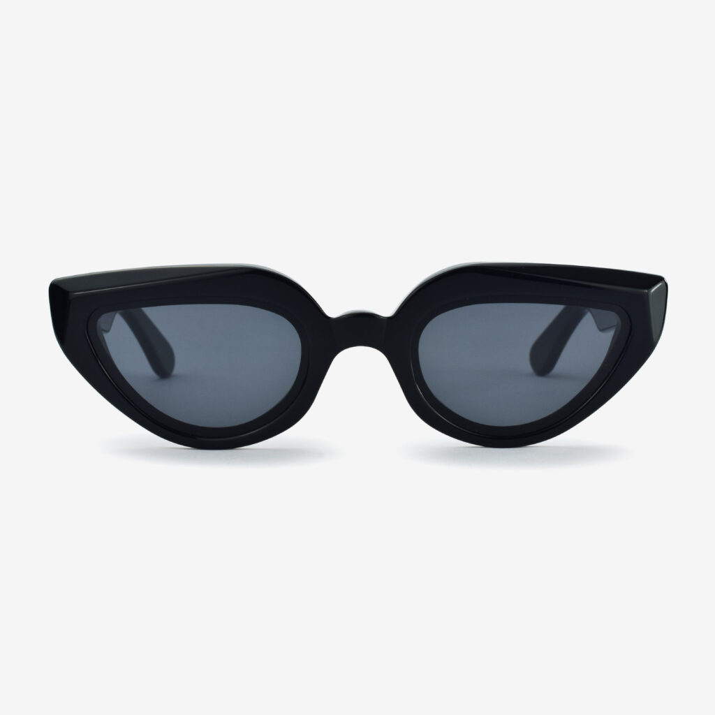 women's and men's sun glasses made in italy hunters glassing prismik marquise black