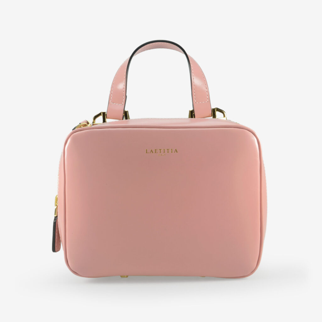 wow made in italy hunters woman bag laetitia lavinia pink