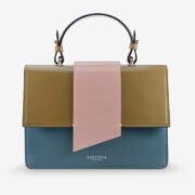wow made in italy hunters woman bag laetitia sophie blue pink